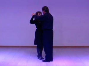 A postura de baile postura_inicio